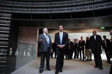 Andrew Cuomo New York's Governor Andrew Cuomo Visits the Yad Vashem Holocaust Memorial Museum