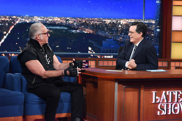 "Andrew Dice Clay CBS's ""The Late Show with Stephen Colbert"" - Season Two"
