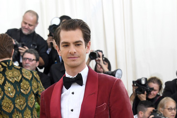 Andrew Garfield Heavenly Bodies: Fashion & The Catholic Imagination Costume Institute Gala - Arrivals