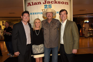 Andrew Kintz Alan Jackson Exhibit Opening Reception At Country Music Hall Of Fame And Museum