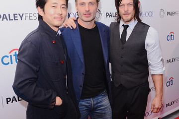 """Andrew Lincoln Steven Yeun 2nd Annual Paleyfest New York Presents: """"The Walking Dead"""""""