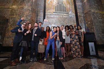 Andrew Martin 2016 Tony Nominees Light the Empire State Building in Honor of the 70th Anniversary of the Tony Awards