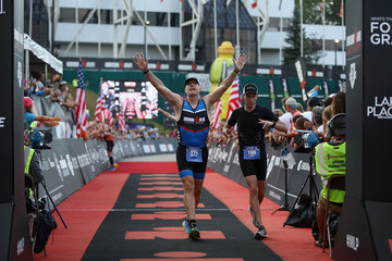Andrew Messick IRONMAN Lake Placid