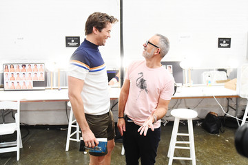 Andrew Rannells Parke And Ronen - Backstage - July 2018 New York City Men's Fashion Week