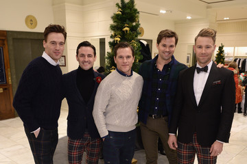 Andrew Rannells Brooks Brothers Celebrates the Holidays With St. Jude Children's Research Hospital