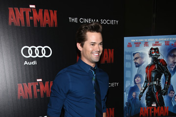 Andrew Rannells The Cinema Society and Audi Host A Screening of Marvel's 'Ant-Man' - Arrivals