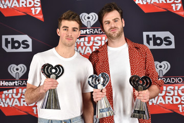 Andrew Taggart 2017 iHeartRadio Music Awards - Press Room