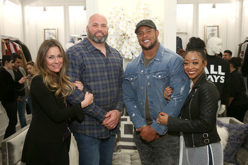 Andrew Whitworth LA Rams Wives and Girlfriends Holiday Gifting Event