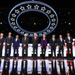 Andrew Yang Democratic Presidential Candidates Participate In Fourth Debate In Ohio