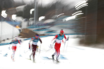 Andrey Larkov Cross-Country Skiing - Winter Olympics Day 15