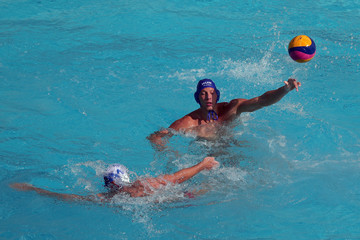 Andrija Prlainovic Water Polo - Olympics: Day 1