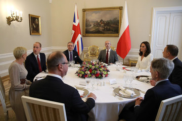 Andrzej Duda The Duke And Duchess Of Cambridge Visit Poland - Day 1