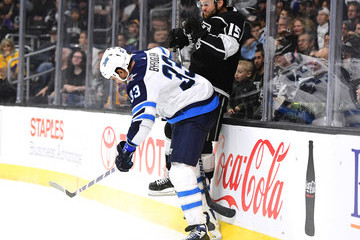 Andy Andreoff Winnipeg Jets v Los Angeles Kings