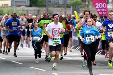 Andy Burnham The 2017 Great Manchester Run