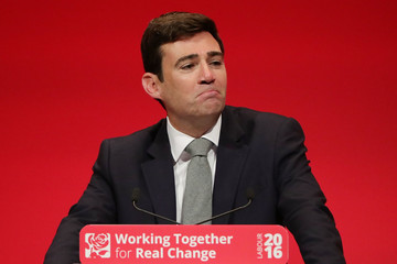 Andy Burnham Andy Burnham Addresses Labour Party Conference