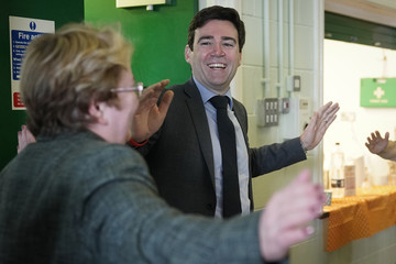 Andy Burnham Greater Manchester Becomes The UK's First Age-Friendly City Region