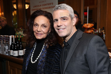 Andy Cohen Lincoln Center Honors Bonnie Hammer at American Songbook Gala - Inside