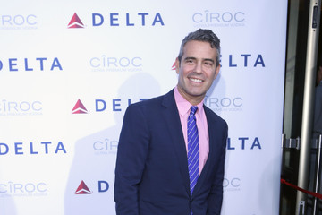 Andy Cohen Delta Air Lines Celebrates a New Terminal
