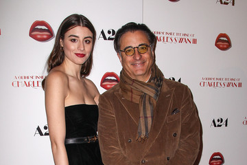 """Andy Garcia Dominik Garcia-Lorido Premiere Of A24's """"A Glimpse Inside The Mind Of Charles Swan III"""" - Arrivals"""