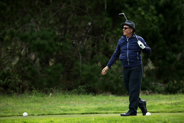 Andy Garcia AT&T Pebble Beach Pro-Am - Round One