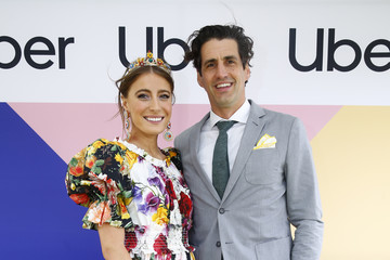 Andy Lee Celebrities Arrive With Uber At Seppelt Wines Stakes Day