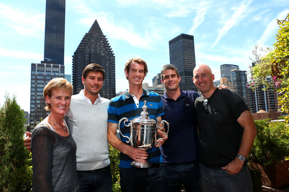2012 US Open Champion Andy Murray - New York City Trophy Tour [social group,community,team,event,brass instrument,city,tourism,wind instrument,musical instrument,travel,andy murray,judy murray,daniel vallverdu,trophy,new york city,great britain,2012 us open,trophy tour,us open championship,final]