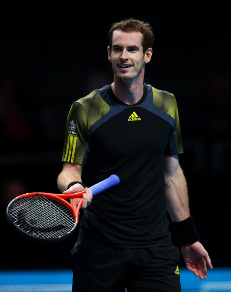Andy Murray - ATP World Tour Finals - Day Five