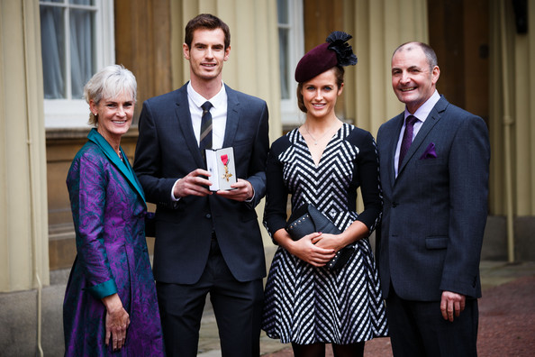 Andy Murray - Investitures Held at Buckingham Palace