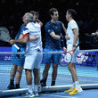Tim Henman and Jamie Murray Photos