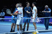 Tim Henman and Mansour Bahrami Photos Photo