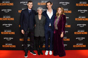 """Jamie Murray, Judy Murray, Andy Murray and Kim Sears attend the """"Andy Murray: Resurfacing"""" world premiere at the Curzon Bloomsbury on November 25, 2019 in London, England."""