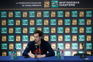 Andy Murray BNP Paribas Masters: Day 2