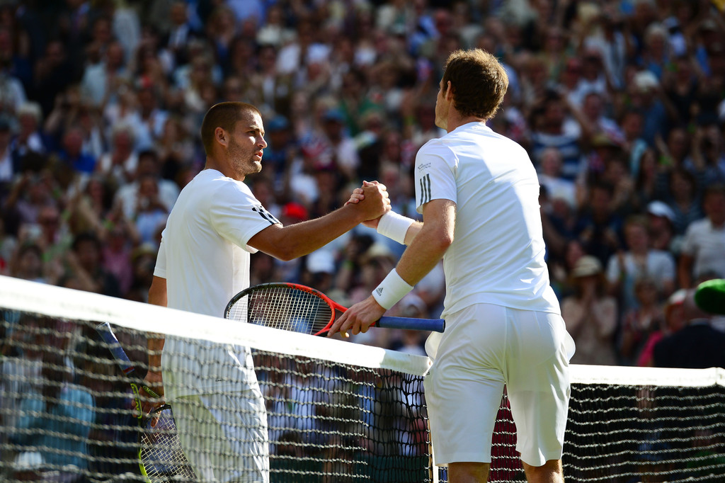 Andy Murray - Wimbledon Tennis Championships: Day 7