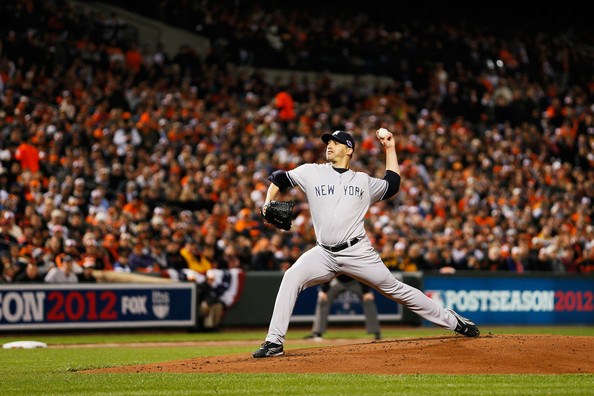 Andy Pettitte - Division Series - New York Yankees v Baltimore Orioles - Game Two