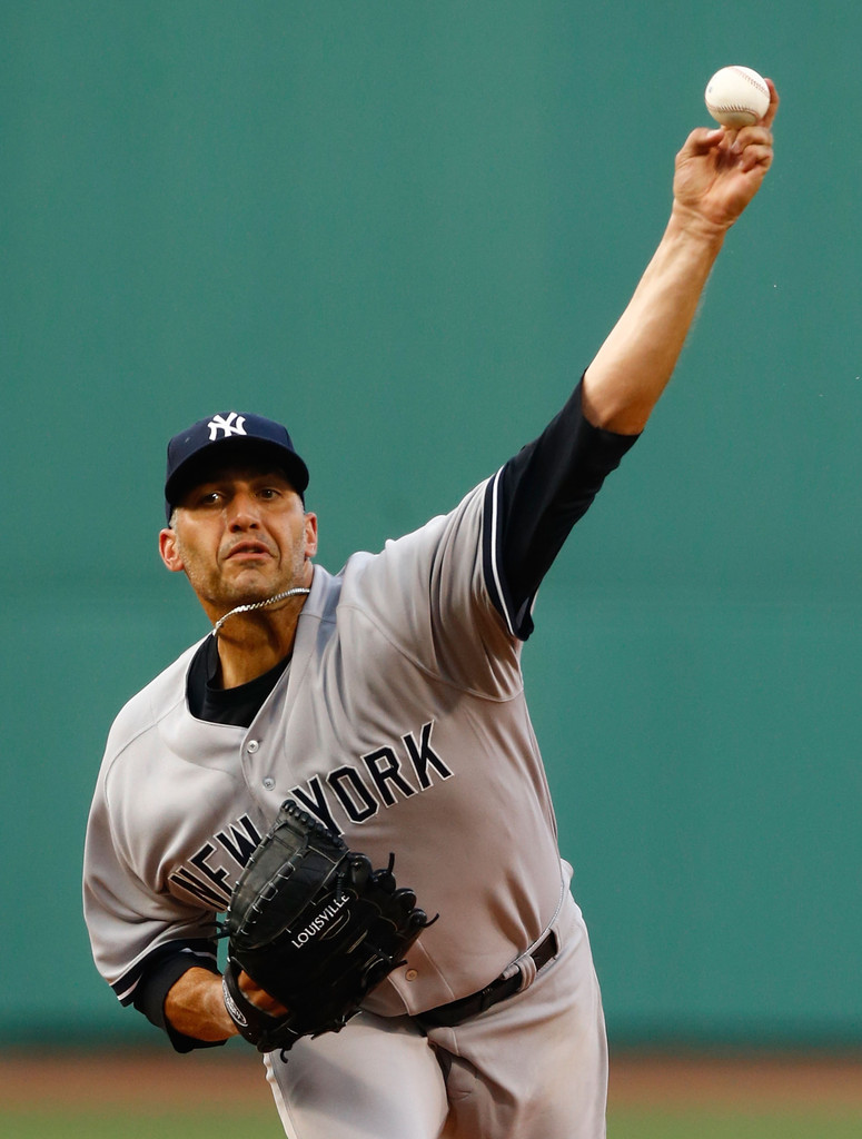 Andy Pettitte - New York Yankees v Boston Red Sox