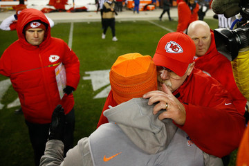 Andy Reid Kansas City Chiefs v Denver Broncos