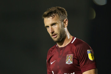 Andy Williams Northampton Town vs. Wycombe Wanderers - Checkatrade Trophy