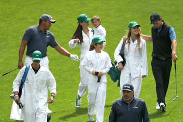 Angel Cabrera The Masters - Preview Day 3