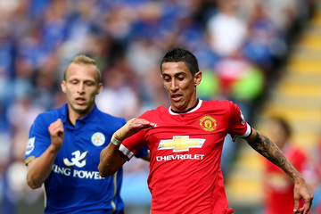 Angel Di Maria Leicester City v Manchester United - Premier League