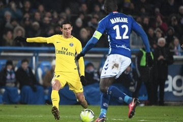 Angel Di Maria Strasbourg v Paris Saint Germain - Ligue 1
