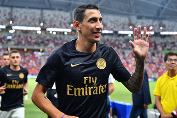 Angel Di Maria Paris Saint Germain vs. Club Atletico de Madrid - International Champions Cup 2018