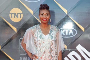 Angel McCoughtry NBA Awards Show 2018 - Arrivals