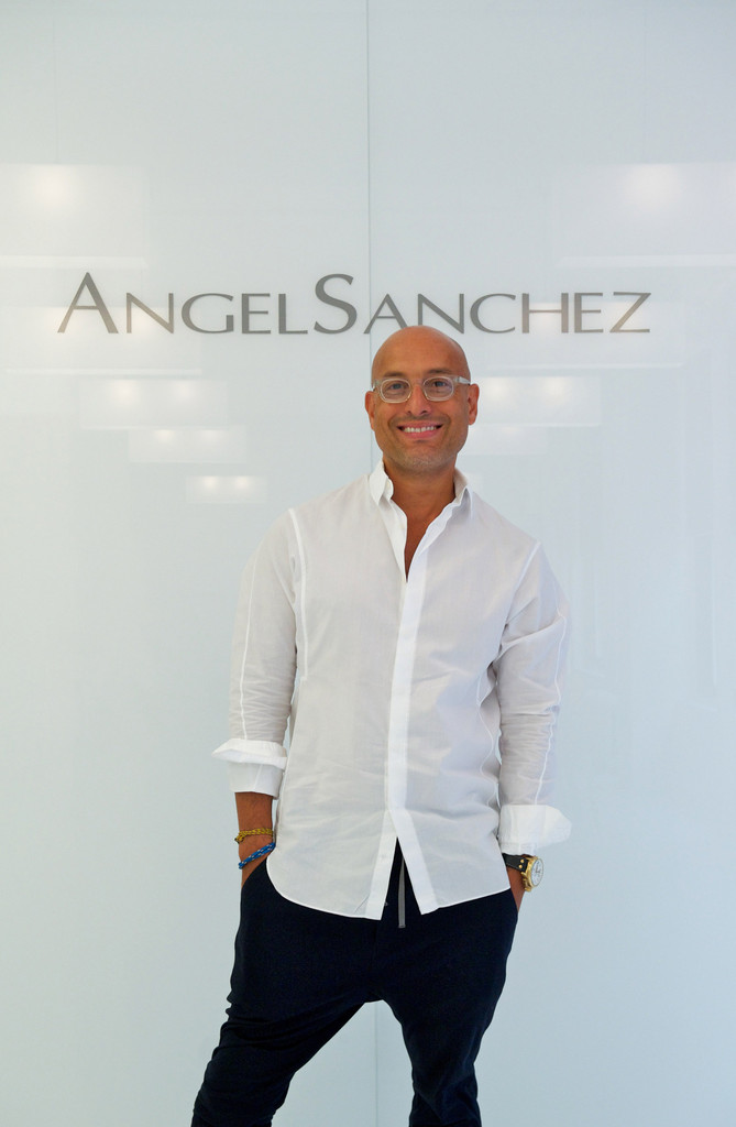 Angel sanchez presentation spring 2012 mercedes benz fashion week