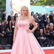 Angela Ismailos 'J'Accuse' (An Officer And A Spy) Red Carpet Arrivals - The 76th Venice Film Festival