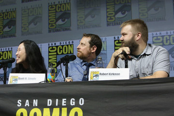 Angela Kang AMC At Comic Con 2018 - Day 2