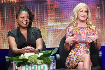 Angela Kinsey Celebrities Attend the 2015 Summer TCA Tour