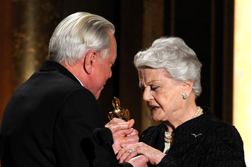 Angela Lansbury Inside the Governors Awards in Hollywood