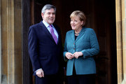 Angela Merkel Gordon Brown Photos Photo