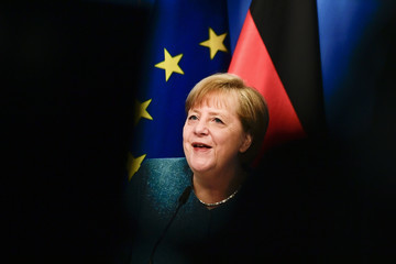 Angela Merkel European Best Pictures Of The Day - May 07