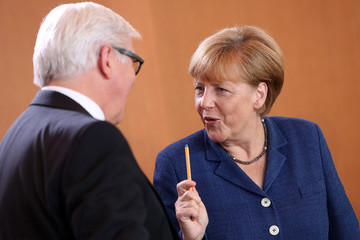 Angela Merkel Government Weekly Cabinet Meeting
